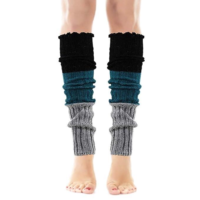 Sopra il ginocchio Calze Scaldamuscoli cuciture