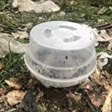 Inverlee New Automatic Flycatcher Fly Trap Pest Reject Control Catcher Trap Housefly
