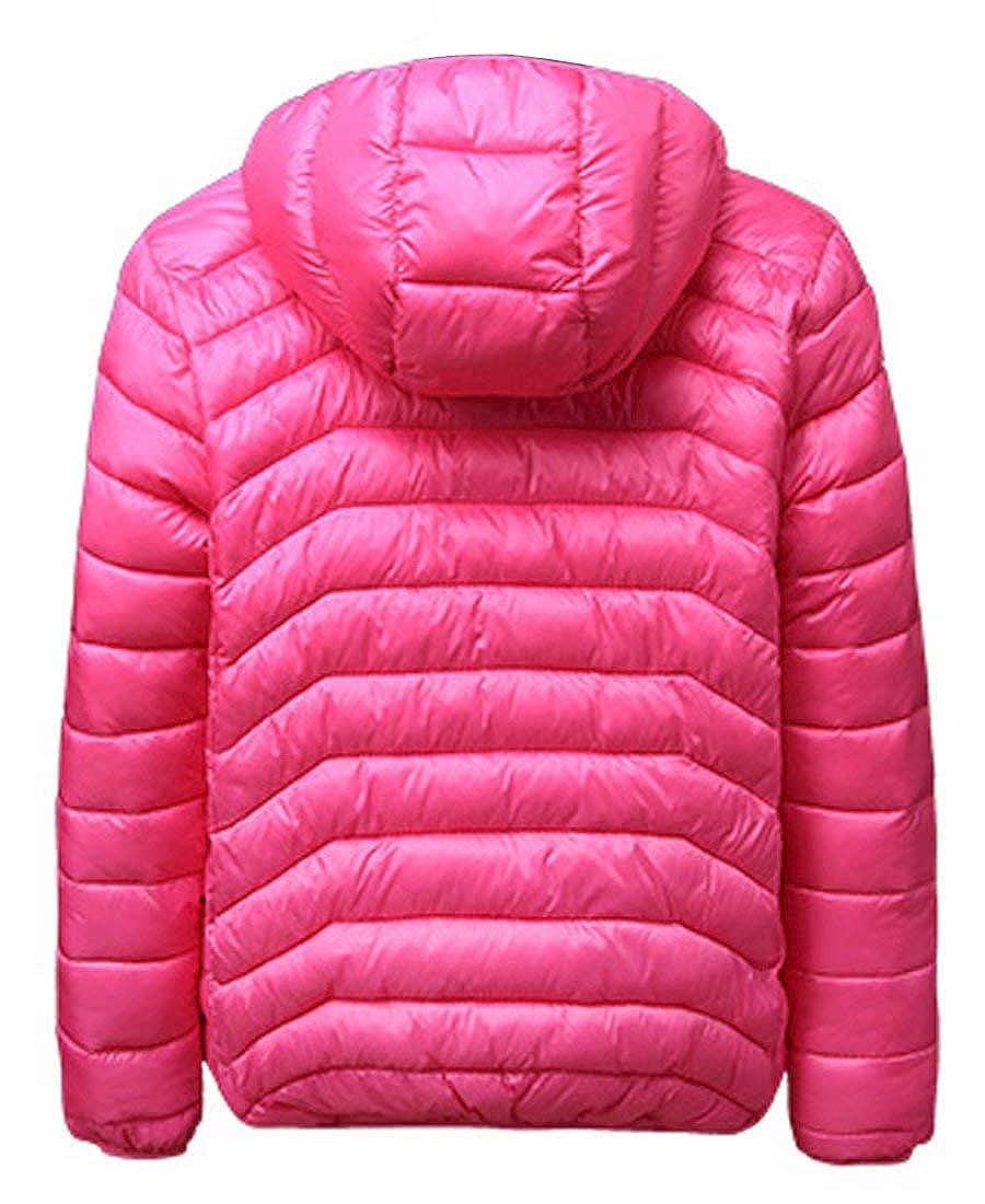 Capturelove Big Boys Girls Lightweight Outerwear Puffer Jacket