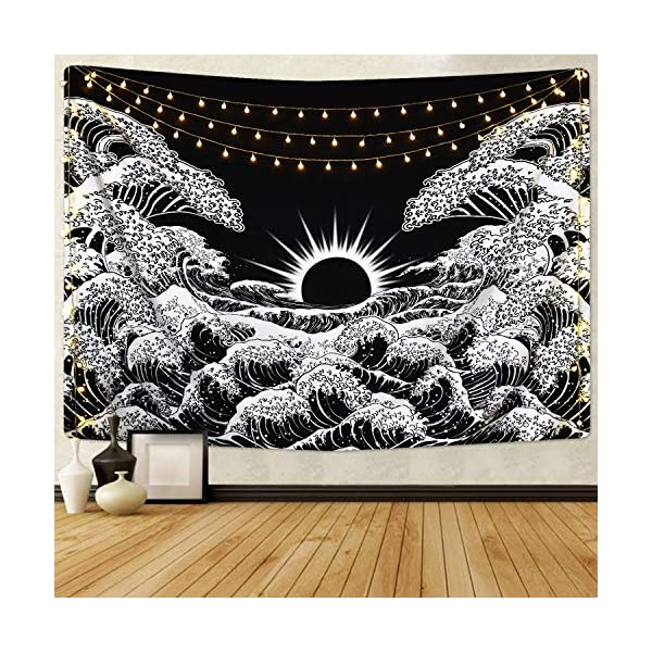 Lyacmy-Great-Wave-Tapestry-Sunset-Tapestry-Ocean-Wave-Tapestry-Black-and-White-Tapestry-Wall-Hanging-for-Room512-x-591-inches