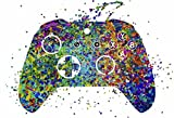 Studio Jives... Custom X-Box Game Controller ~ Decorative Art Print. (13'×19' Poster on Heavy Photo/Art Paper)