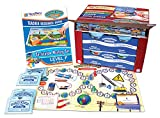 NewPath Learning 4 Piece Curriculum Mastery (ELA, Math & Science) Game Set, Grade 6, Class-Pack