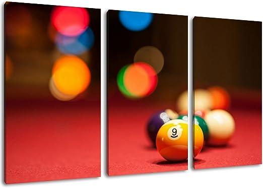 Bolas de billar Formato: tres piezas total de 120x80, imagen ...