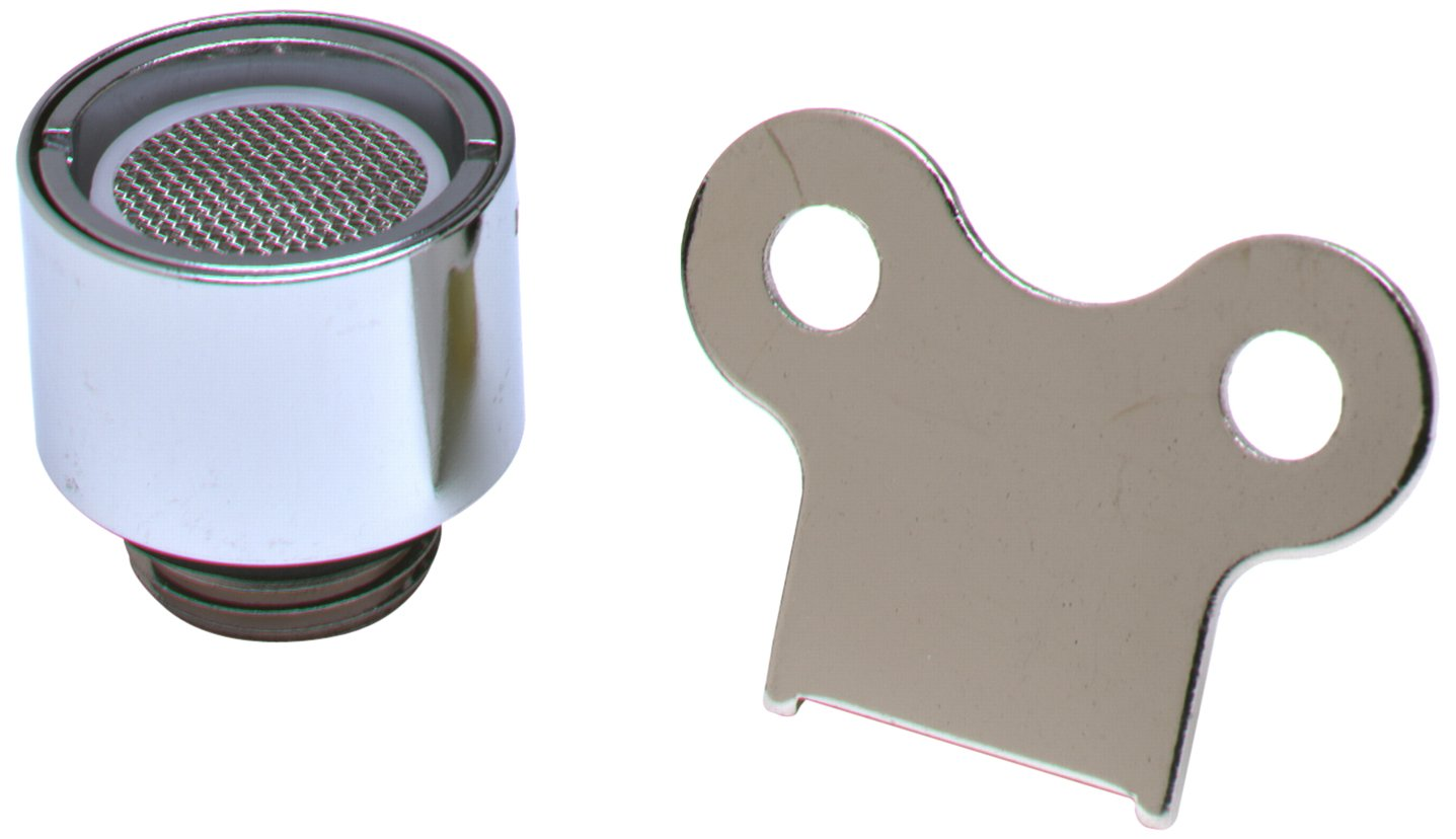 T&S Brass BL-5550-12 Aerator with 3/8-Inch Npsm Male