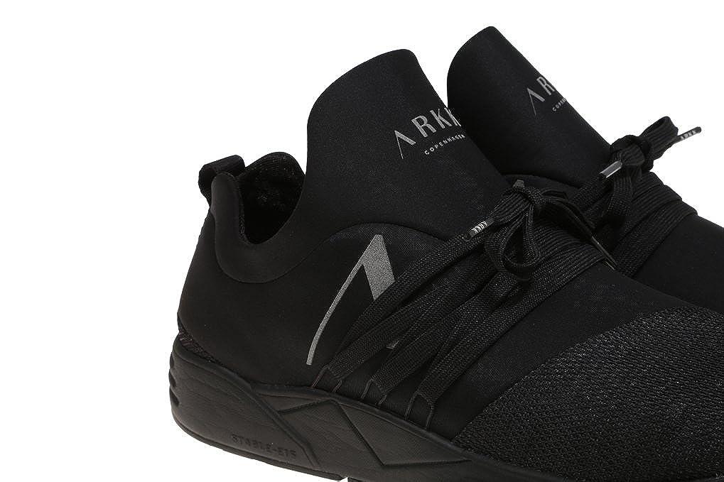 ARK RAVEN MESH , Herren Sneaker Schwarz Schwarz, Schwarz