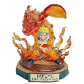 Siyushop 19 Cm PVC Naruto Ninja Figura De Acción - Sasuke Uchiha - Naruto Uzumaki - Kakashi Hatake - Gaara (Color : A)