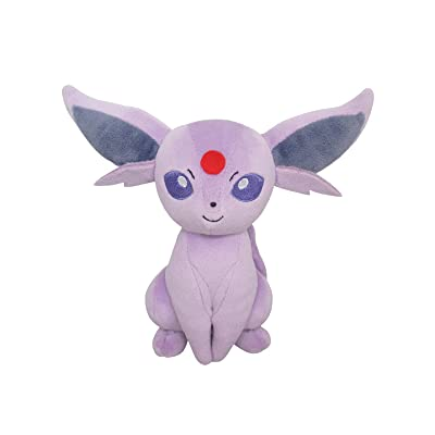 Sanei PP121 Pokemon All Star Collection Espeon Plush: Toys & Games