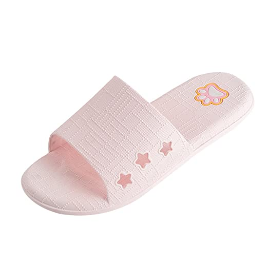5fea7abdf813 Londony ♥‿♥ House Slippers Open Toe Shower Sandal Slippers Quick Drying Gym  Bathroom Slippers