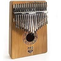 Pro Kalimba 17 Tuşlu Baş Parmak Piyanosu Bambu Ağacı