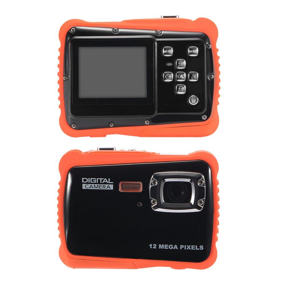Kreema WTDC-5262 Fotocamera per bambini 5 M Pixel 2.0 TFT HD LCD Display digitale Schermo Sport all'aria aperta Videocamera con azione impermeabile BB016