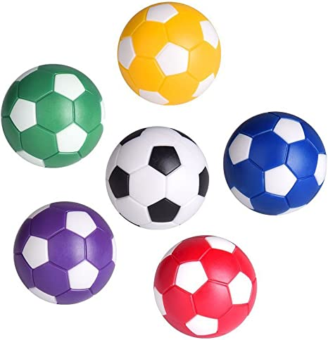 Yeahibaby 12 unids Table Soccer Foosballs Reemplazo Bolas Mini ...