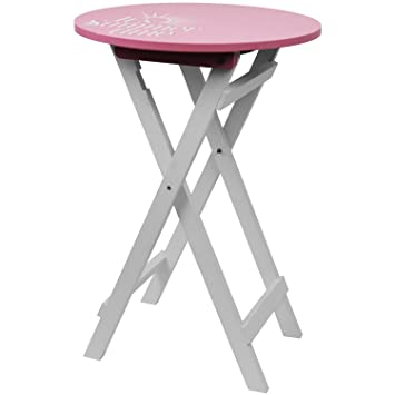 Table d\'appoint ronde 40 x H60 cm Table de camping Table ...