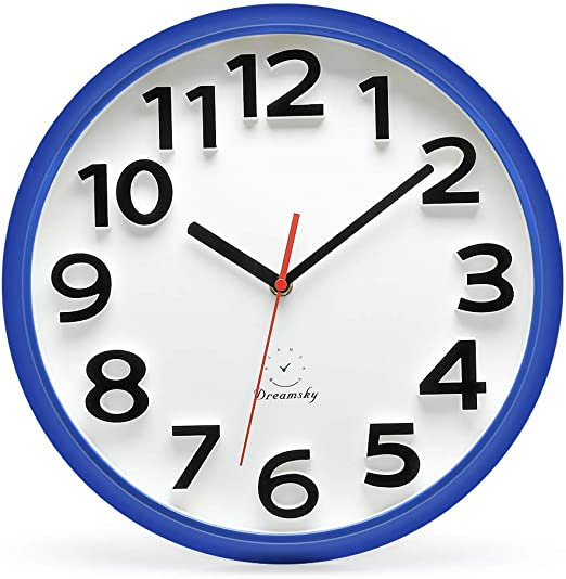 Large Decorative Wall Clock,Silent Wall Clock Non Ticking for Living Room