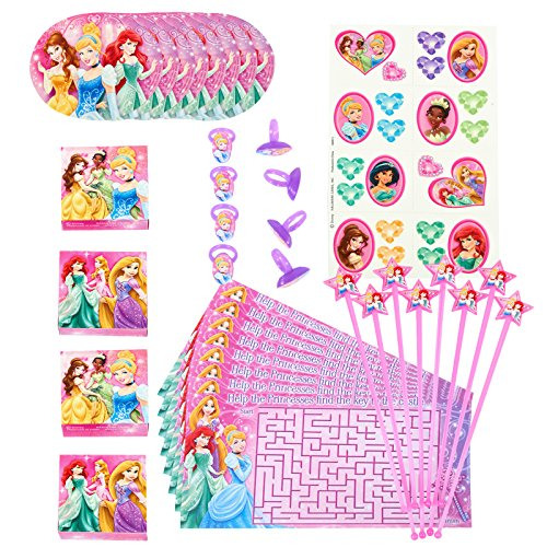 Disney Princess Dream Party - Party Favor Value Pack Princess Birthday Favors