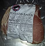 Unsmoked Traditional Pork Loin Bacon- 1 lb British Back Bacon Rasher