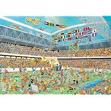 Jan van Haasteren Football Crazy 1000 Piece Jigsaw Puzzle