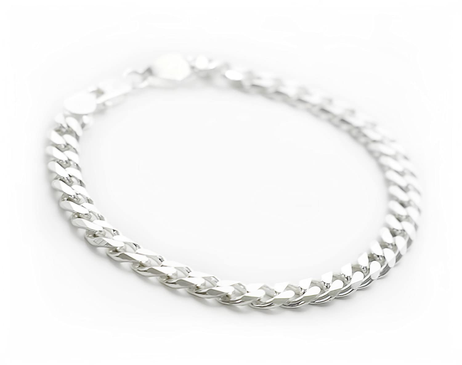 Silverwala Silver Sterling 92.5 Silver Bracelet For Men: Amazon.in ...