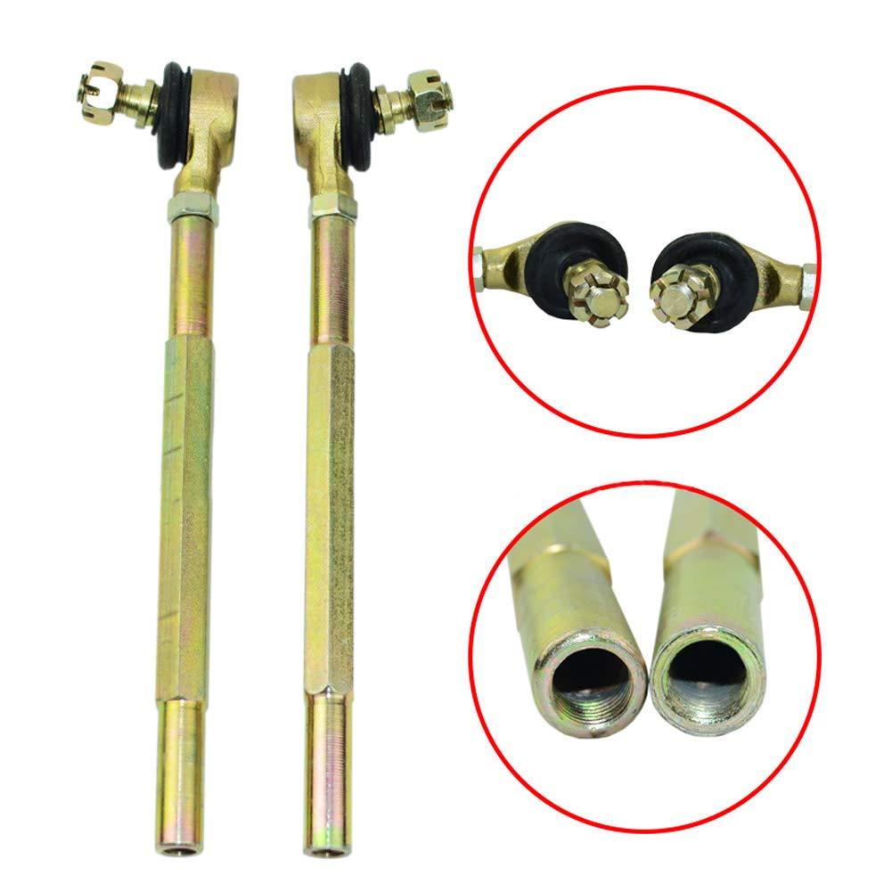 Kinbelle Steering Wheel Assembly Tie Rod Rack Adjustable Shaft Kit fit for 110cc Go Kart Bike