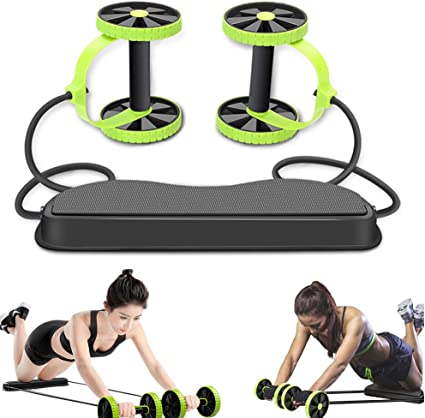 Amazon Com Wensunnie New Strong Ab Roller Wheel Multifunctional Ab Workout Equipment Ab Exercise Equipment For Abdominal Exercise Core Wheels Ab Trainer For Men Women Machine At Home Sports