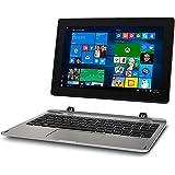 Medion Akoya E1239T MD 60792 25,6 cm (10,1 Zoll Full HD Display) 2in1 Tablet-PC (Intel Atom x5-Z8350, 2GB DDR3 RAM, 64GB Flash-Speicher, Intel HD-Grafik, Win 10 Home) Silber