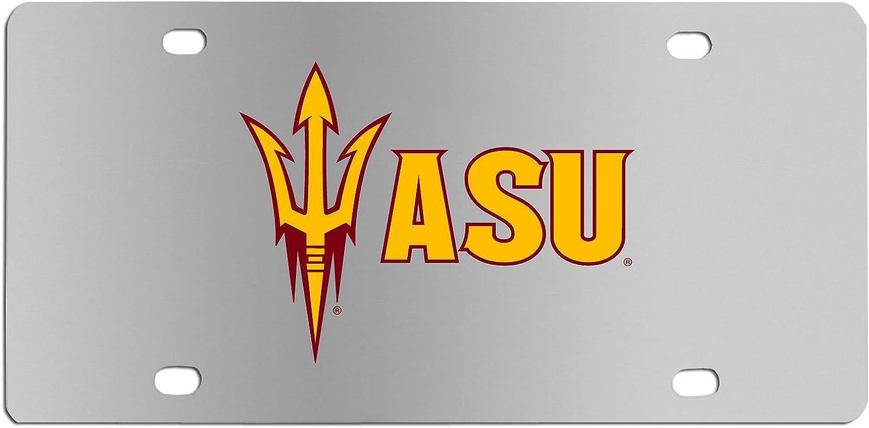 Siskiyou Sports NCAA Unisex Steel License Plate