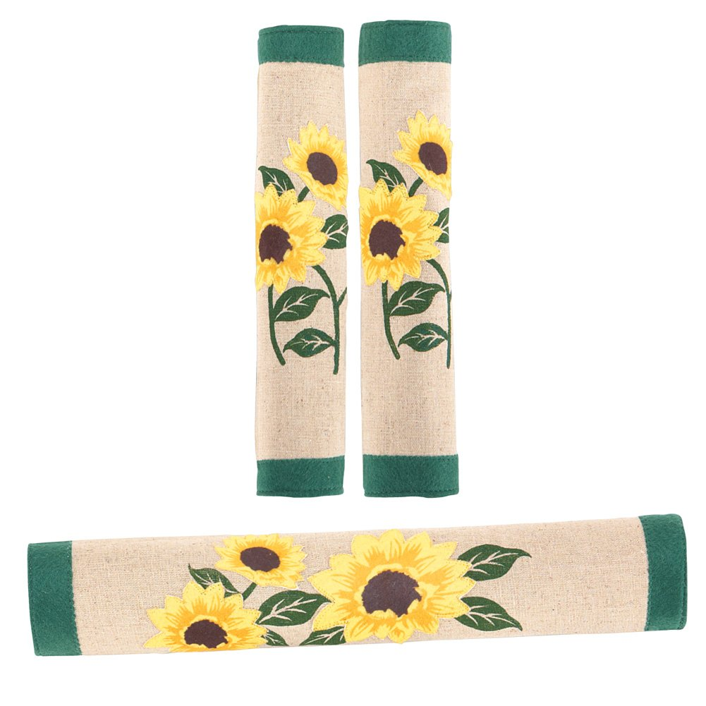 Sunflowers Kitchen Appliance Handle Covers - 3 pc