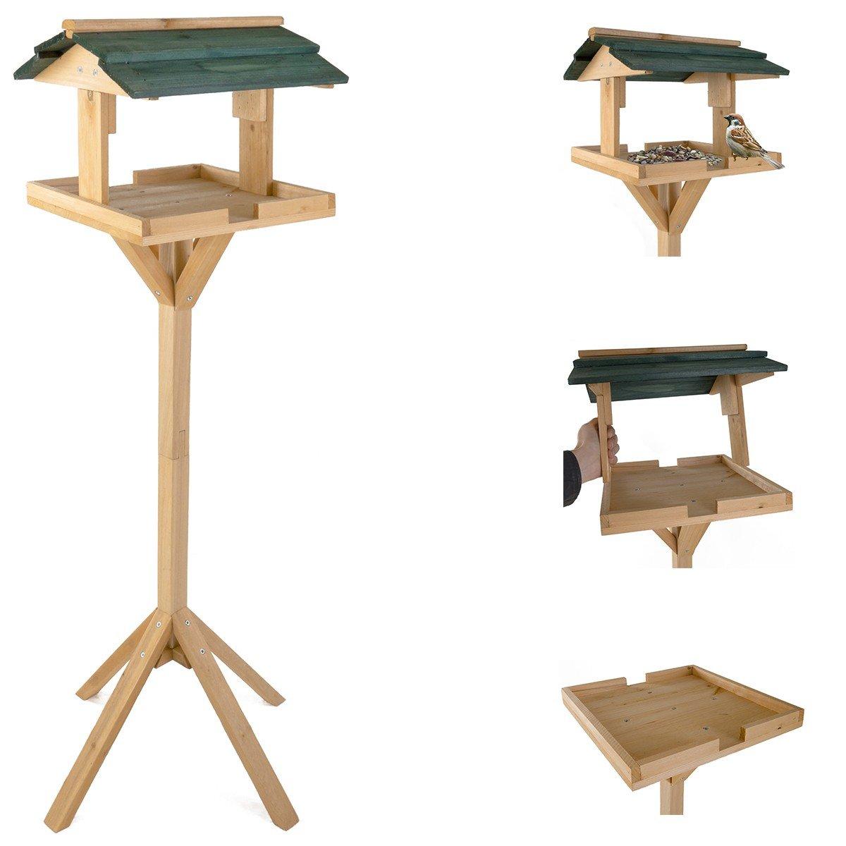 Vogelfutterhaus Vogelhäuschen Futterkrippe Futterstation Vogelfutterstation Neu BURI