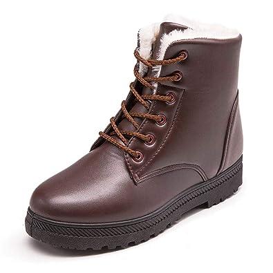 Winterstiefel Damen Zipper Warme Gefüttert Schneestiefel Bequeme Schuhe,Boots Damen Schwarz,Heißer