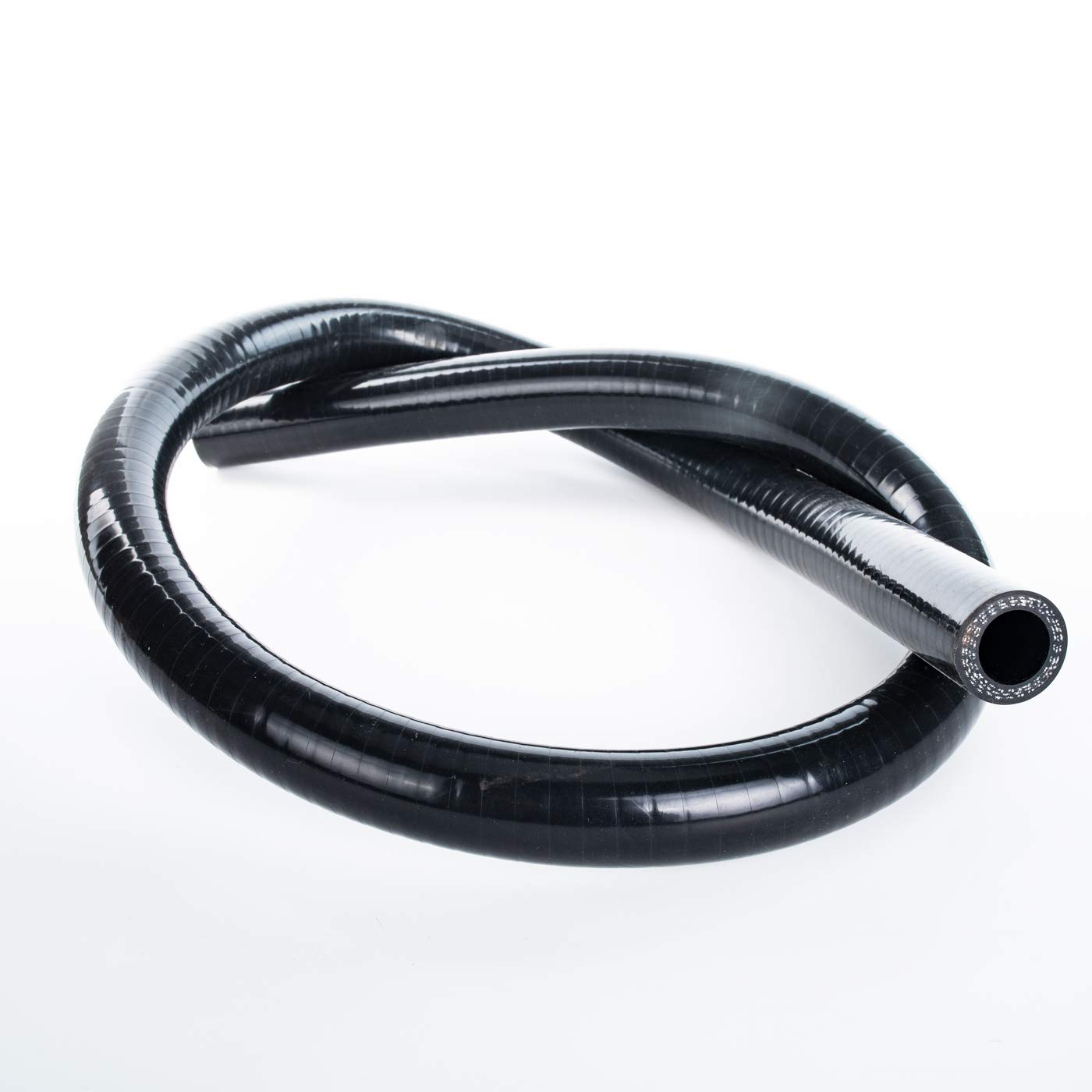 Black 3-Ply Reinforced Universal Automotive Pure Silicone Hose 4.5mm Wall Thickness 0.18 45 Degree Elbow Coupler 90mm 51mm ID 2 80 PSI Maximum Pressure No Logo Leg Length 3.5