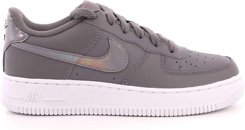 Nike Damen Air Force 1 (Gs) Fitnessschuhe, grau