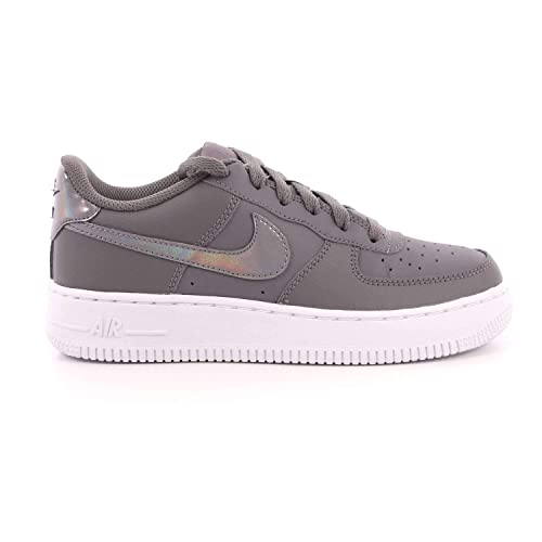 promo code 1147c 35c48 Nike Air Force 1 (GS) Scarpe da Fitness Donna, Multicolore GunsmokeWhite  019, 35.5 EU Amazon.it Scarpe e borse