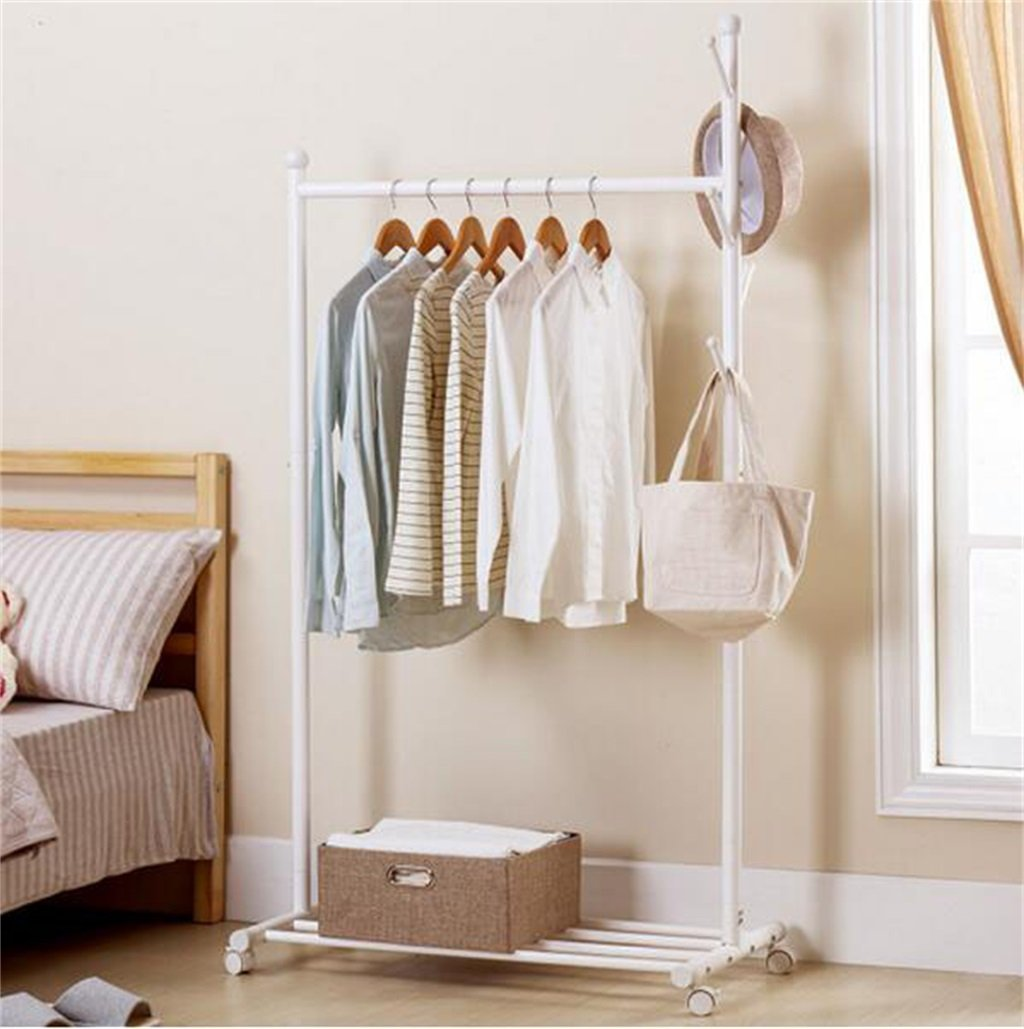 Amazon.com: AIDELAI Coat Rack Coat Racks with Casters Metal ...