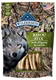BLUE Wilderness Grain Free Bayou Stix with Alligator & Catfish Dog Treats 6-oz