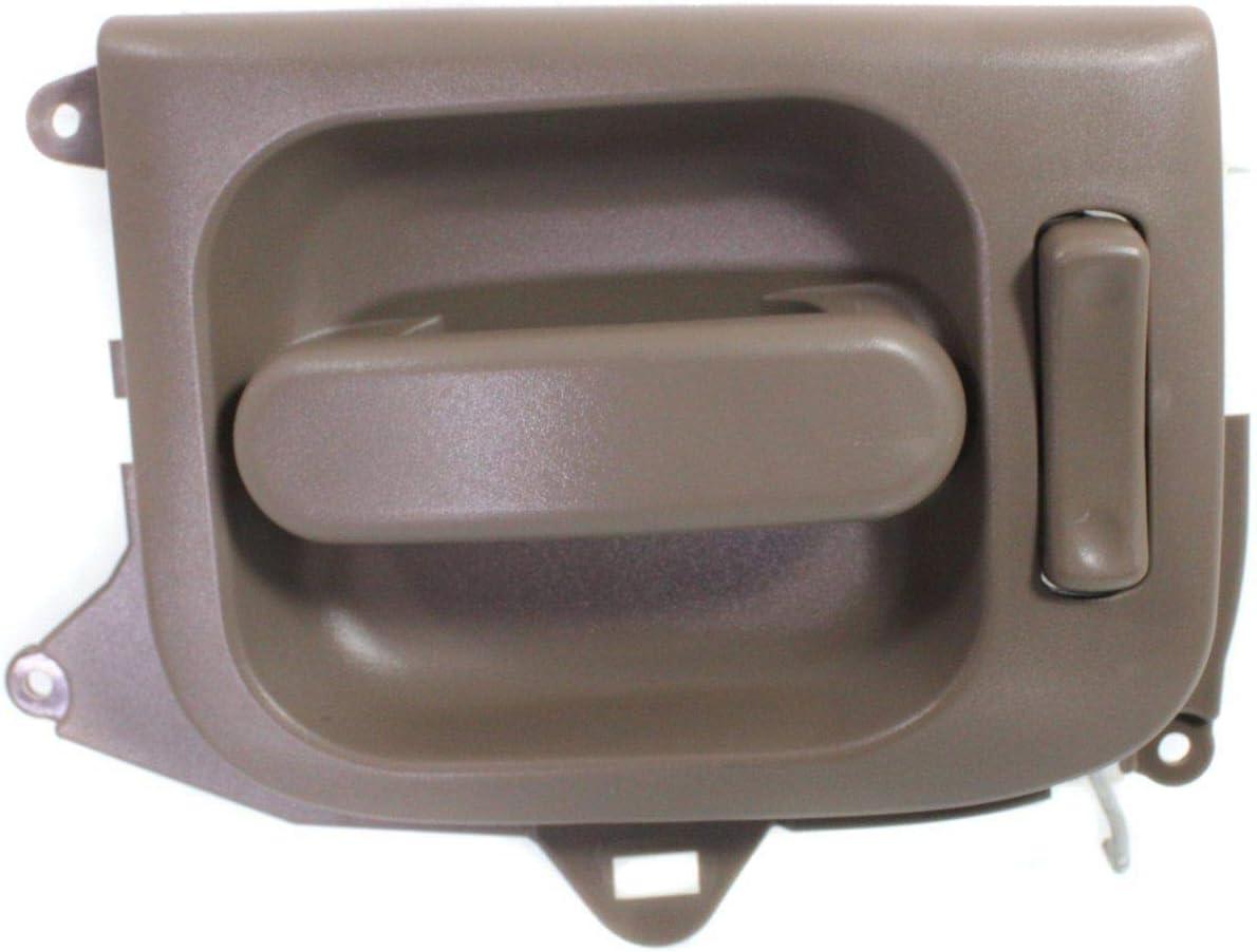 Interior Door Handle For 2002-2005 Kia Sedona Rear Passenger Side Beige Plastic