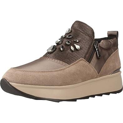 Geox Damen D Gendry A Sneaker: Schuhe & Handtaschen