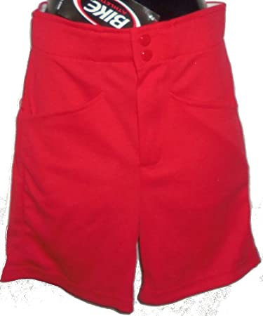 Bike Athletic Brand Men S Red Coaches Shorts Baseball