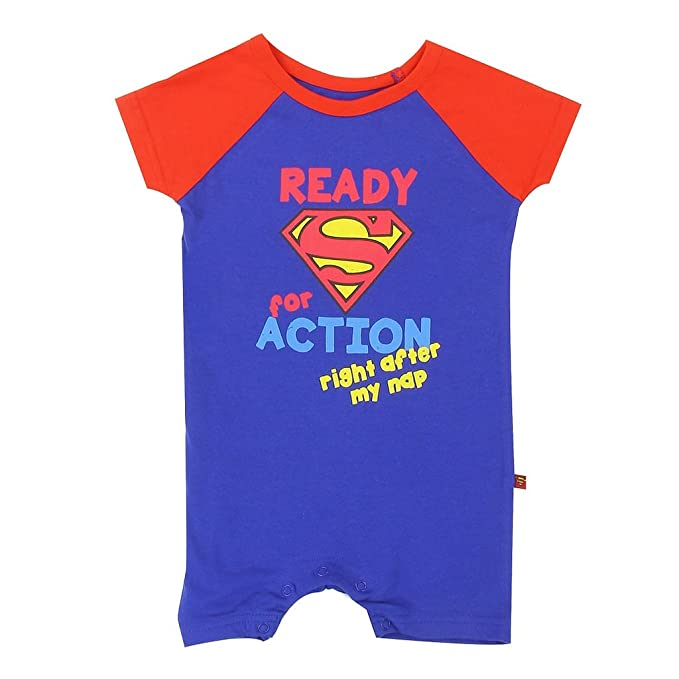 D.B.PRINCE Newborn Baby Boys Girl Romper Bodysuits Cotton Superman One-Piece Jumpsuit Outfits Clothes