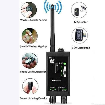 Amazon.com: Detector de radio LED GSM RF, rastreador ...