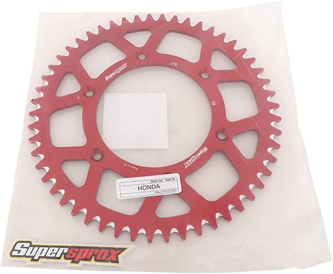 Supersprox RAL-210-53-RED powersports-sprockets