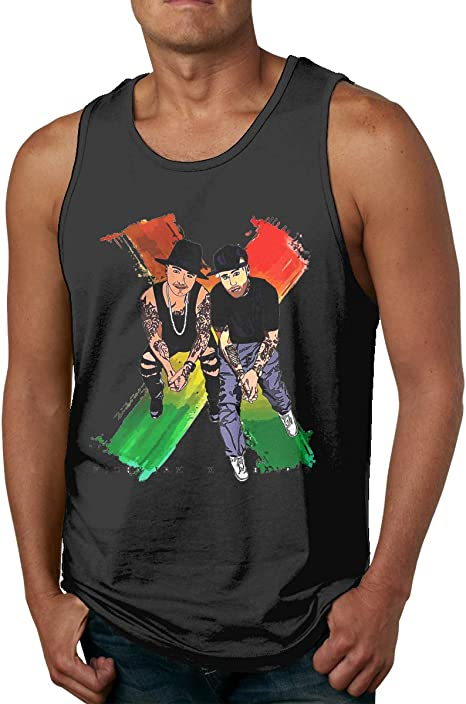 Nicky Jam X J-Balvin Camiseta de Tirantes sin Mangas para ...