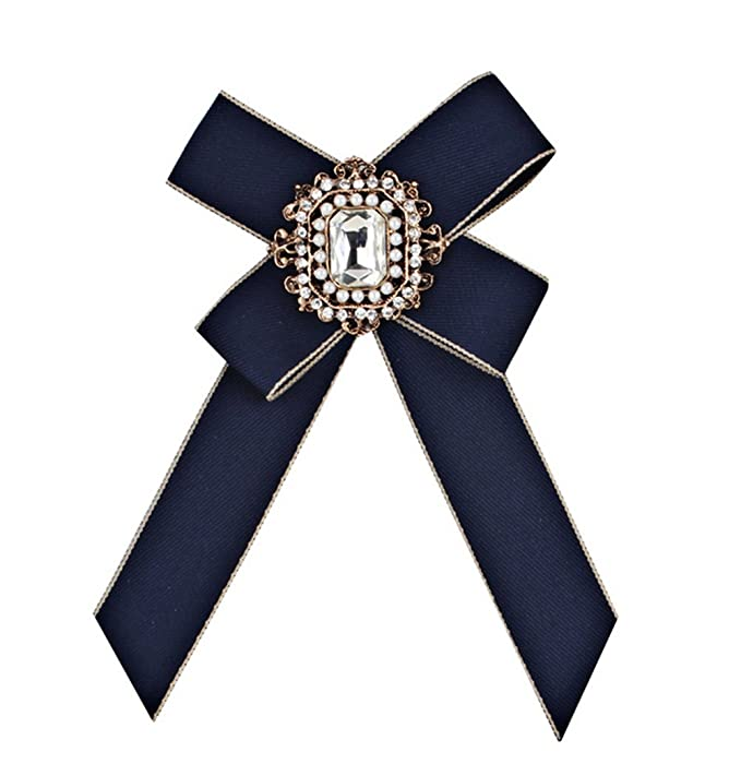 Wicemoon Arco Broche Collar Pins Camisa Corbata Corbata Corsage ...