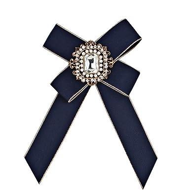 jingyuu 1Pcs La Corbata de Lazo de la Broche de Las Mujeres ...