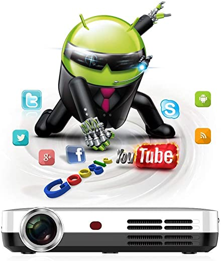PLAY™ Android Blu-ray, 3D, 4K Ultra HD 2205P Build-in WiFi, Bluetooth Miracast Airplay Projector