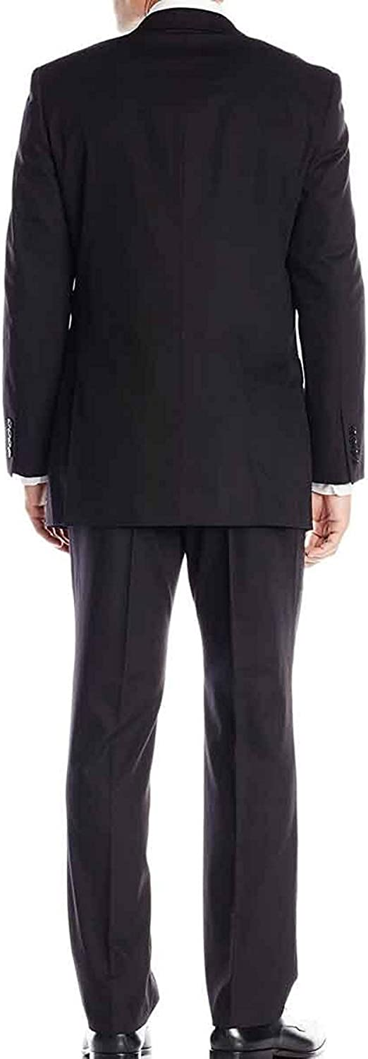 LP-FACON Mens 2 Button Black Tuxedo for Sale