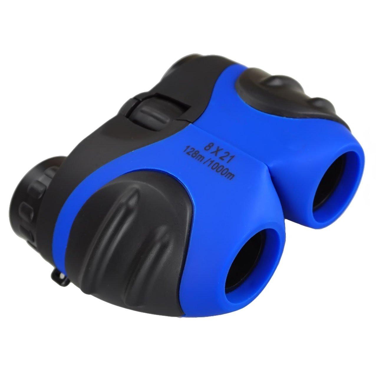 Darli軽量コンパクト双眼鏡for Bird Watching Hunting – Best Gifts B07CKT786H ブルー ブルー