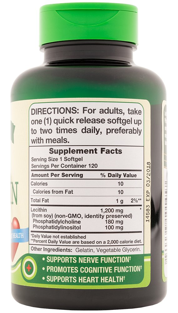 Nature's Truth Ultra SOYA Lecithin 1200 mg, 120 Count (Pack of 3) by Nature's Truth