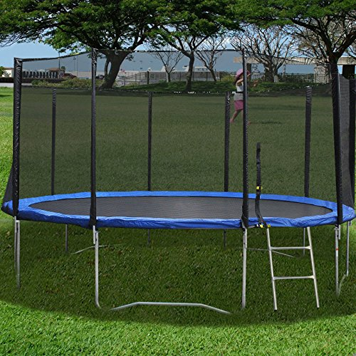 Lotus Notes 7 Download (New 15FT Trampoline Combo Bounce Jump Safety Enclosure Net W/Spring Pad)