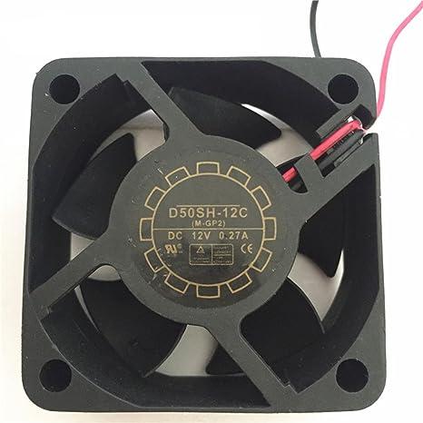 Producto nuevo DC sin escobillas ventilador d50sh-12C 505020 mm 12 ...