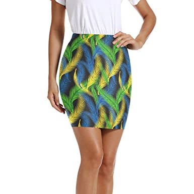 LUPINZ Mini Falda Ajustada elástica para Mujer, Estilo brasileño ...