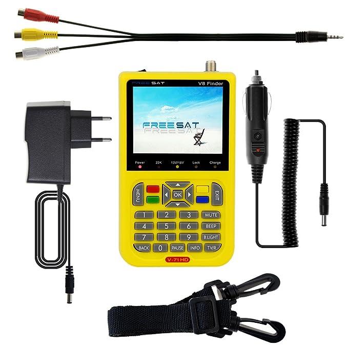 Amazon com: Newest Digital Sat Finder Satellite Antenna Signal Meter